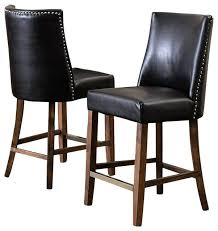 leather nailhead bar stools chic brown leather bar stools accent brown leather stools set of 2 leather nailhead bar stools faux leather brown