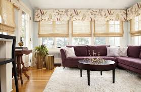 casual living room window treatments. Wonderful Treatments Top It Off Casual Lightdiffusing Blinds Create Privacy While The Pleated  Fabric Valance Dresses Up Space Family Room Designed By Interior Designer  For Casual Living Room Window Treatments R