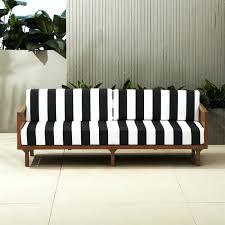 white patio furniture black and white stripe sofa white patio chair cushions