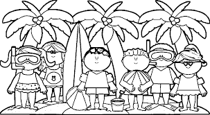 Activity Coloring Page - Coloring Home