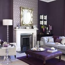 Small Picture Purple Living Room Design