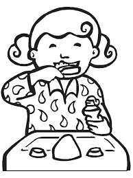 Johnny Appleseed Coloring Page Teeth Coloring Pages Preschool ...