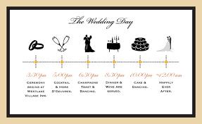 Wedding Schedule Timelines For Weddings Rome Fontanacountryinn Com