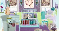 vintagebluegirlsbedroom1png blue vintage style bedroom