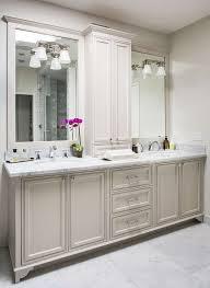 bathroom vanities mirrors and lighting. Impressive Light Gray Bath Vanity Cabinets Transitional Bathroom Inside Within Mirrors Attractive Vanities And Lighting T