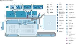 Brisbane International Airport Map Map ...