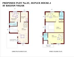 bedroom duplex floor plan three house plans bes on beautiful indian home plans and designs free