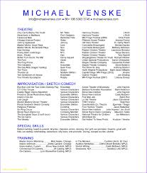 Original Resume Template Unique Resume Templates For Actors Good Resumes 25