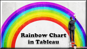 Rainbow Chart In Excel Rainbow Chart In Tableau