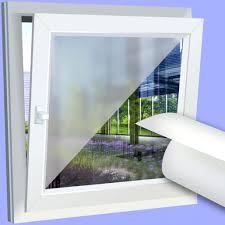 Fensterfolie Bad Sichtschutz Fenster Vertikal Lamellen X Weia Innen