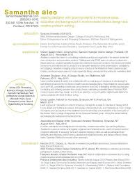 Presentation Resumes Creative Resume Layout Design Interior Design Presentation