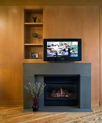 fireplace designs contemporary gas fascinating decorations ideas mink flat wall screen tv over panel above