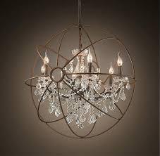 foucaults orb orb clear crystal chandelier foucaults orb smoke crystal floor lamp