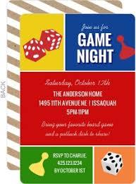 Game Night Invitation Template Game Night Invitation Game Night Invitations