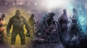 Where Does Kong Fit On The Updated Godzilla Size Chart Godzilla Vs Kong Size Discussion