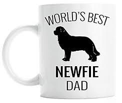 world s best newfie dad coffee mug dog lover gift newfoundland owner mug