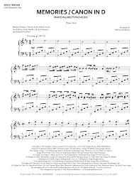 Canon in d digital sheet music. Maroon 5 Pachelbel Memories Canon In D Sheet Music Pdf Free Score Download