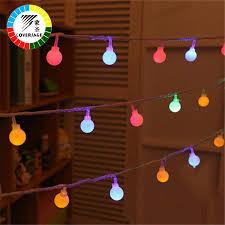 coversage 8m 40 led tree garland string xmas decoration outdoor ball curtain navidad curtain fairy holiday lights led string ball light led