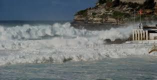 australia weather warning surf