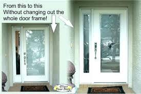 replace door glass insert replacing a door door frame molding replacing a door frame removing door