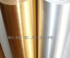 mirror effect furniture. new thickening pvc boeing film gold and silver wire drawing wallpaper reflective mirror furniture kitchen cabinet effect o