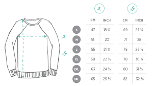 Men S Sweater Size Chart Fashion Size Guide Juniqe