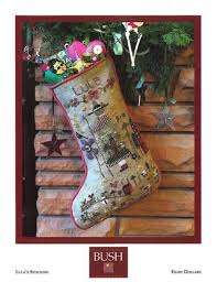 Cross Stitch Stocking Patterns Unique Lula's Stocking Cross Stitch
