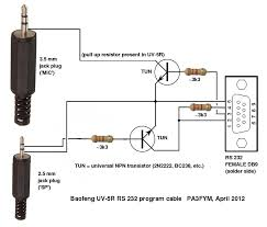 cable wiring diagram cable wiring diagrams diagram uv 5r interface