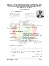 Fantastic Curriculum Vitae Filetype Pdf Pictures Inspiration Entry