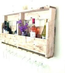 diy wine glass holder wood rack wooden storage build racks r painted candle holders