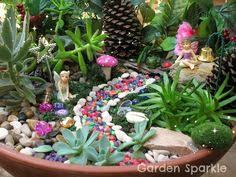 Small Picture fairy garden ideas mini garden design miniature house pond garden