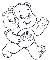 Disegni Da Colorare Per Bambini Orsetti Del Cuore Fredrotgans