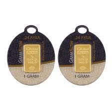 2 gr 24 Ayar Gram Külçe Altın Fiyatları