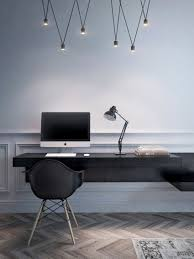 wall mounted desk lamps unique apartments modern workspace with wall mounted desk and stylish