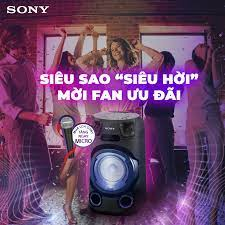 CTKM Sony: Mua loa karaoke tặng ngay micro