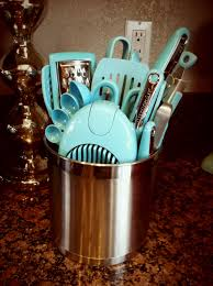 Kitchen Aid Ice Blue Kitchen Aid Aqua Utensils I Want All Of These In Red Dream