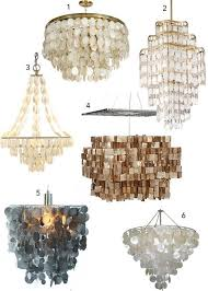 from stylecarrot com tag horchow capiz s chandeliers 1