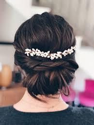 Chignon Mariée Chignon Bas Bride Hairstyle 2018 Hairstyle
