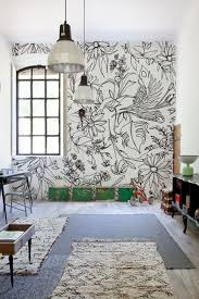 48 Eye-Catching Wall Murals to Buy or DIY via Brit + Co. Hand Drawn  Flowers: Grab some Sharpies, release your inner Monet and have fun drawing  some summer ...