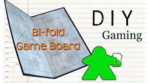 How To Make A Wooden Game Board DIY Gaming How to Make a Bifold Gameboard YouTube 45