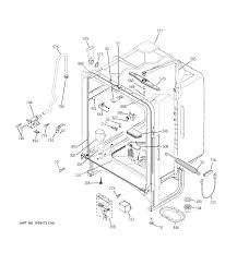 Ge model gld6300l00bb dishwasher genuine parts dishwasher wiring at the wall 52 dishwasher wiring at the wall