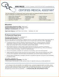 6 Sample Of Medical Assistant Resume Skills Based Resume