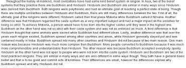 tips for crafting your best hinduism essays hinduism is a religion or a way of life found most notably in and true self is the ultimate deity that can be achieved by any individual