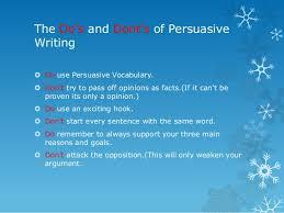 persuasive essay tutorial 17