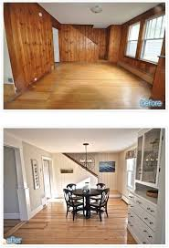 learn how to paint over wood paneling painting paneling is not hard to paint before after outdated paneled walls to fabulous e