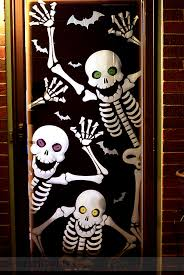 halloween door decorating ideas. Halloween Skeleton Door Decoration Halloween Door Decorating Ideas O