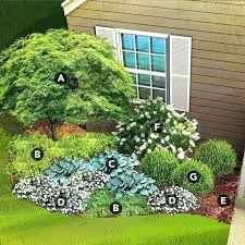 part shade garden plan corner shade garden plans shade garden plan for south region featuring maple