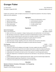 9 Examples Of Engineering Resumes Offecial Letter