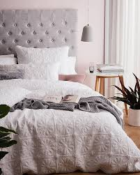 Best 25+ Bed linen sets ideas on Pinterest   Extra bed, Diy bed ... & A cosy Friday night in is definitely a good idea when the weather is cold  and your bed is nice and warm. The Meadow quilt cover features a stylish  textured ... Adamdwight.com