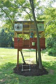 simple tree house pictures. Simple Tree House Designs For Kids #1846 With Backyard Treehouse 21502 Pictures